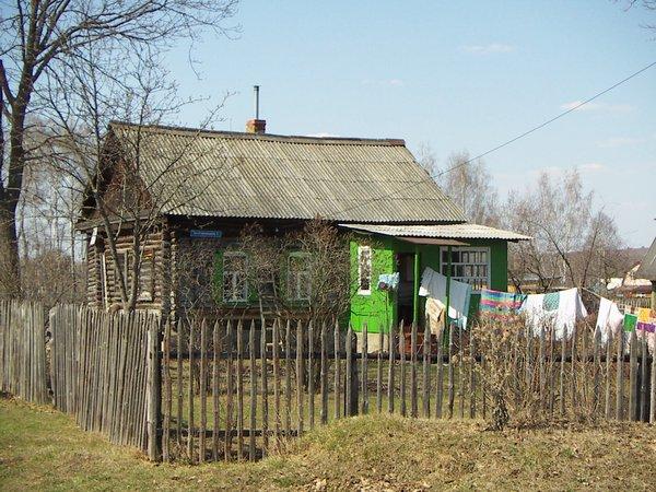 Картинки деревенских домов